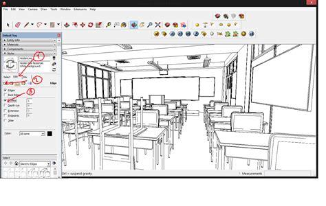 cara membuat webtoon sendiri cara membuat background anime dengan sketchup dan
