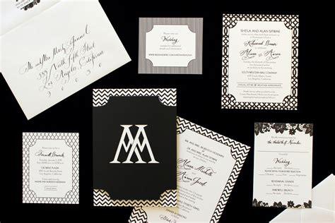 Wedding Invitation Advice by Wedding Invitation Style Advice Inside Weddings