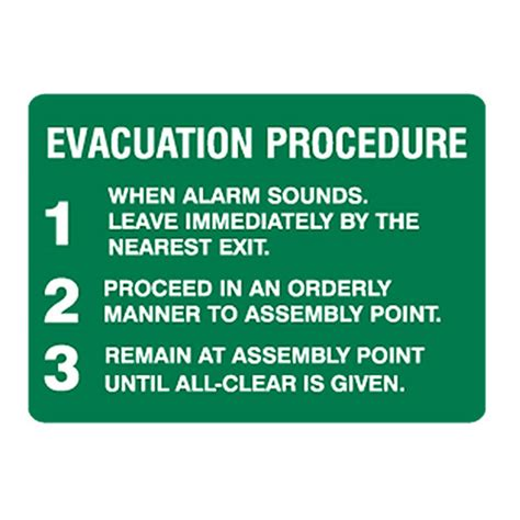 Lu Emergency Exit exit evacuation signs evacuation procedure