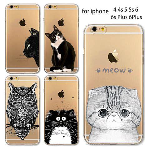 Iphone5 Iphone 4 5s 5c 6 Plus Xiaomi 4i Redmi Note 2 3 Pro Casing 1 przezroczyste etui z nadrukami zwierząt dla apple iphone 4