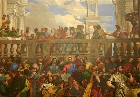 Wedding At Cana Painting In The Louvre by Louvre Museum Paintings Www Pixshark Images