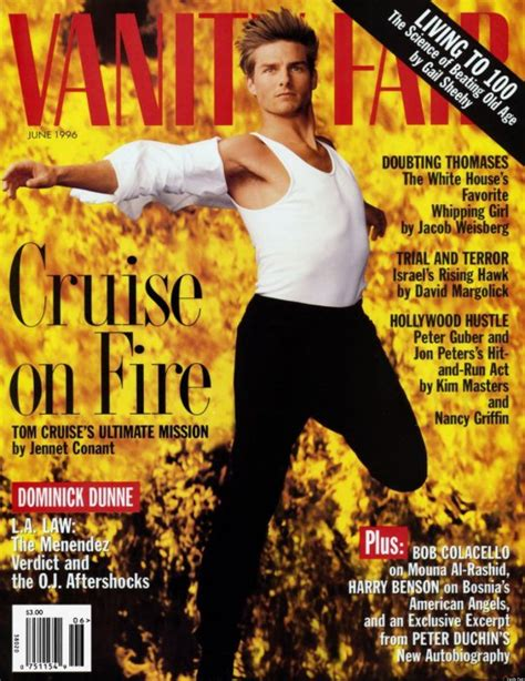 Vanity Fair Tom Cruise by Tom Cruise Vanity Fair Covers A Look Back At The Actor S
