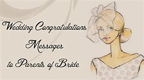 Wedding Congratulations Messages To Parents Of