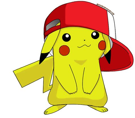 Cute Pikachu Cute Pikachu With Hat By | cute pikachu with hat by mlpochea on deviantart