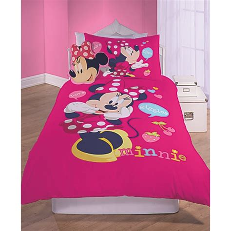 minnie mouse bedroom set purple doughnuts disney character inspired bedroom set