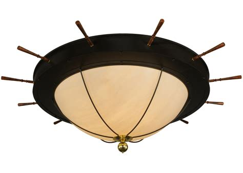 meyda 136204 nautical large flush mount ceiling fixture