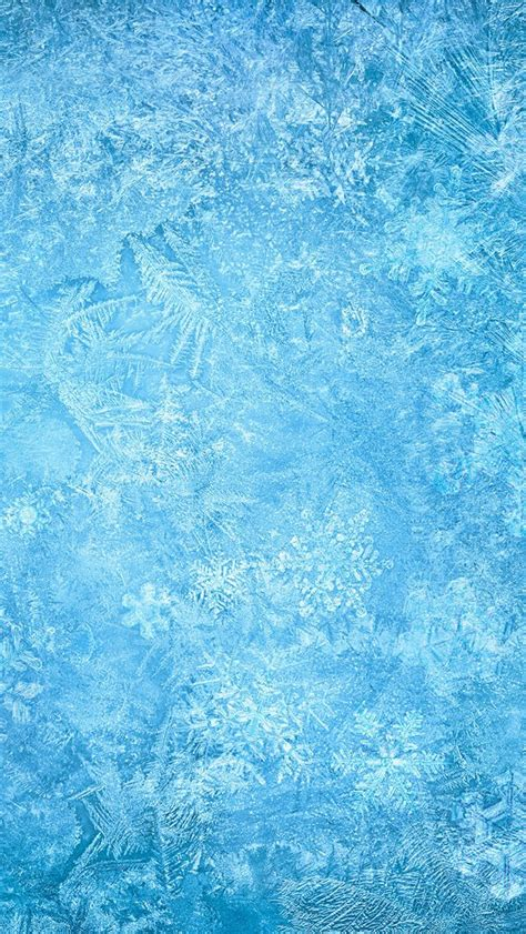 frozen glass wallpaper frozen ice snowflake macro iphone 5 wallpaper jpg 640 215 1