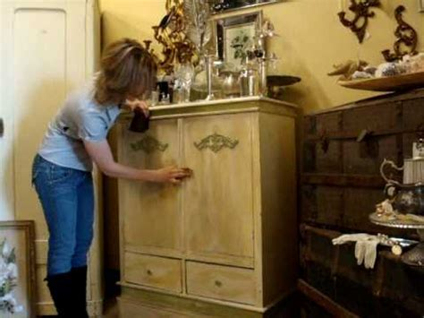 distressed cabinets painting techniques distressing technique youtube