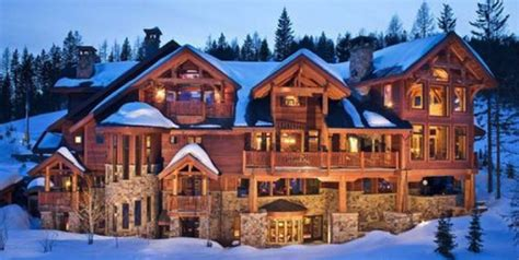 Charming Winter Cabin Plans #2: Creech-House-Ski-Resort-Cabin-in-Montana.png