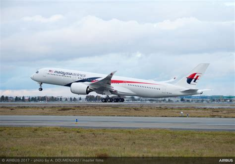 Air 2 Malaysia malaysia airlines takes delivery of its a350 xwb