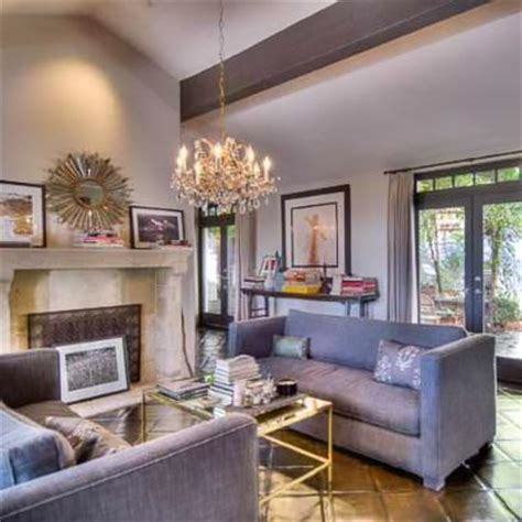 celebrity interior homes photos inside molly sims s spanish style home stately celebrity