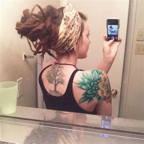 cap sleeve tattoo best 25 succulent ideas on