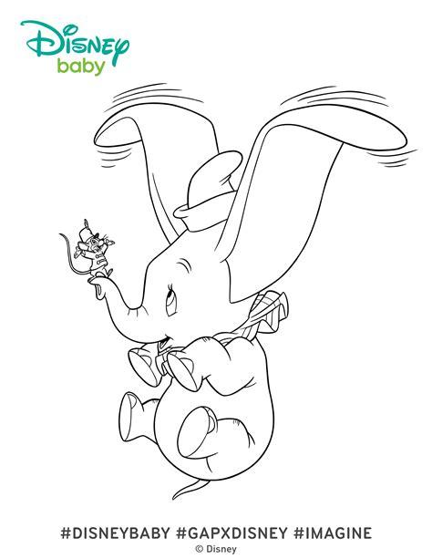 dumbo coloring pages dumbo coloring pages disney baby