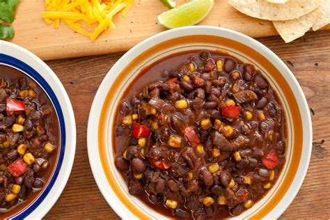 vegetarian bean recipes cooker 30307 pressure cooker black bean chili jpg