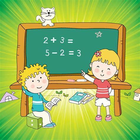 imagenes estudiando matematicas dibujos de ni 241 os estudiando matematicas imagui
