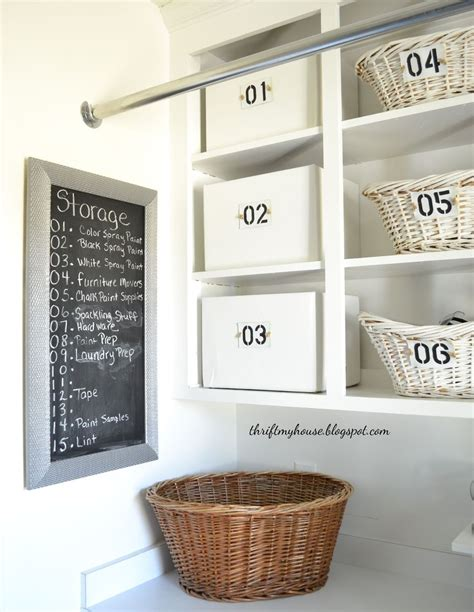 Inexpensive Cabinets For Laundry Room Hometalk How I Organized My Open Cabinets In The Laundry Room Cheap