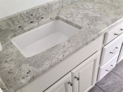 Granite Vanity Tops With Sink Quot Andromeda White Quot Granite Vanity Top On A Medallion