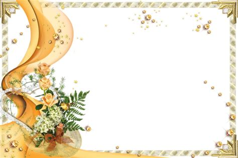 wedding png templates cadres fleurs page 5