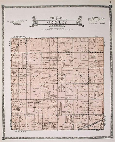 chapter 25 section 1 counties towns and townships answers shelby county iagenweb 1921 atlas anderson plat maps