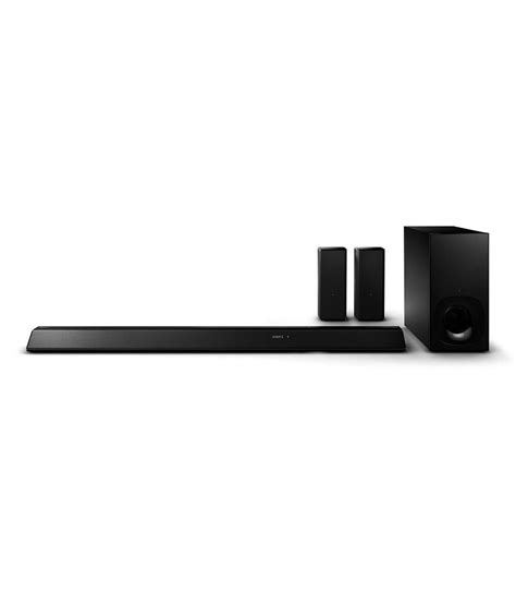 sony ht rt5 sound bar type wireless home theatre system
