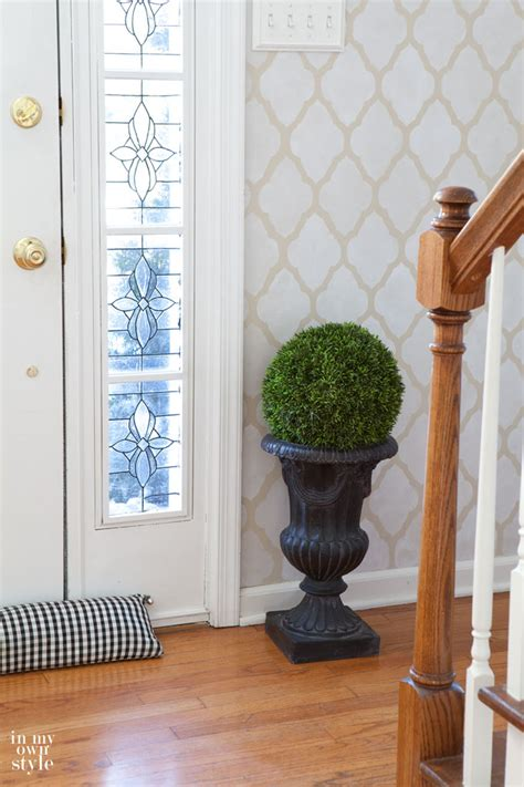 foyer decorating ideas a bright new foyer more in my own style