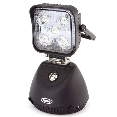 rechargeable led work light with magnetic base led magnetic base rocking mount rechargeable work l