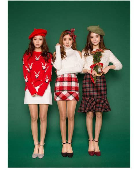 korean christmas fashion official korean fashion