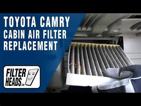 Do I Need A Cabin Air Filter by How To Replace Cabin Air Filter Toyota Camry