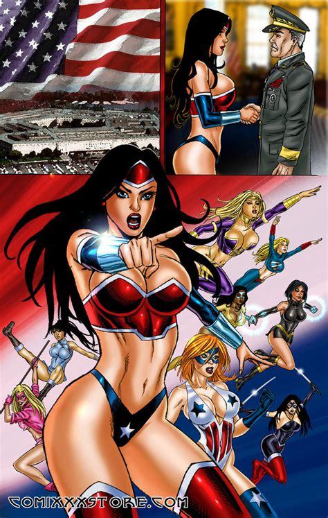 Sexy superheroine stories