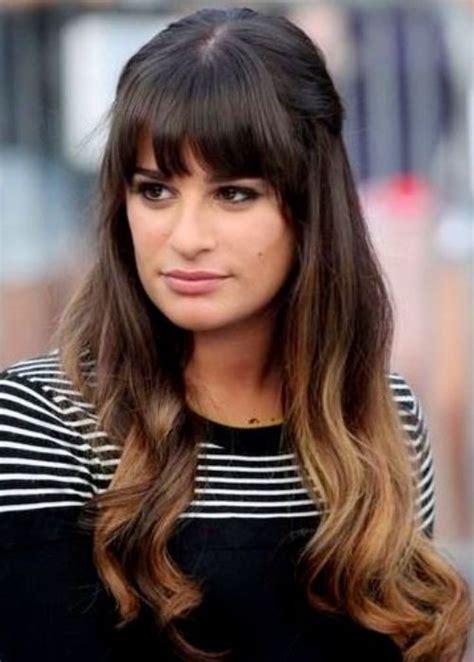 down hairstyles with fringe half fringe hair style www pixshark com images