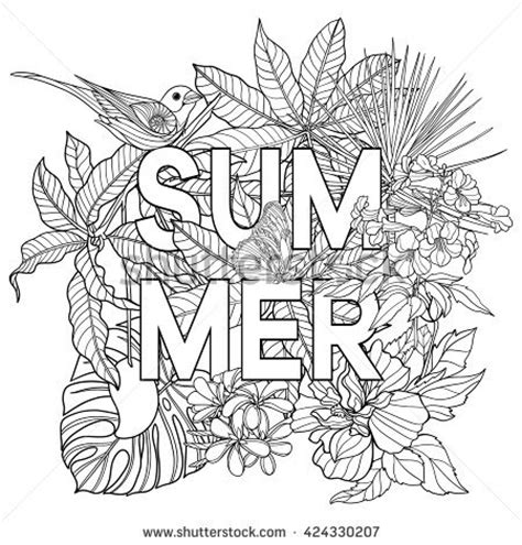 coloring pages for adults summer butterfly color stock photos images pictures