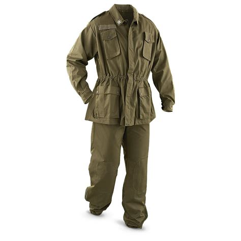 Army Set Overall By Anfashion new italian surplus combat set olive drab