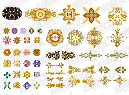 ai number pattern china s pattern number of vector material download free