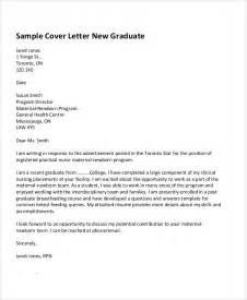 cover letter graduate student 29 application letter exles free premium templates