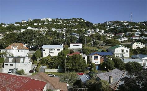 House Sale Prices Records Wellington House Prices Up 20 Percent Radio New Zealand News