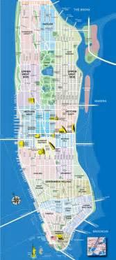 map of manhattan ny manhattan tourist map manhattan new york mappery