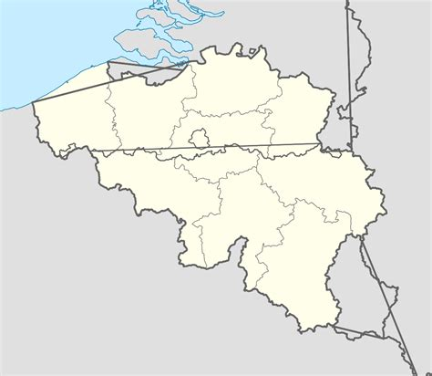 belgium map belgium language map