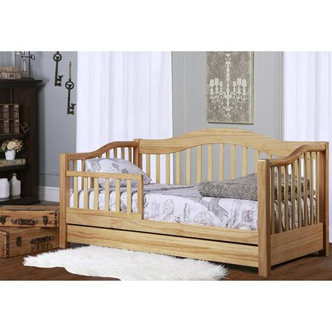 toddler day bed dream on me toddler day bed natural walmartcom organic