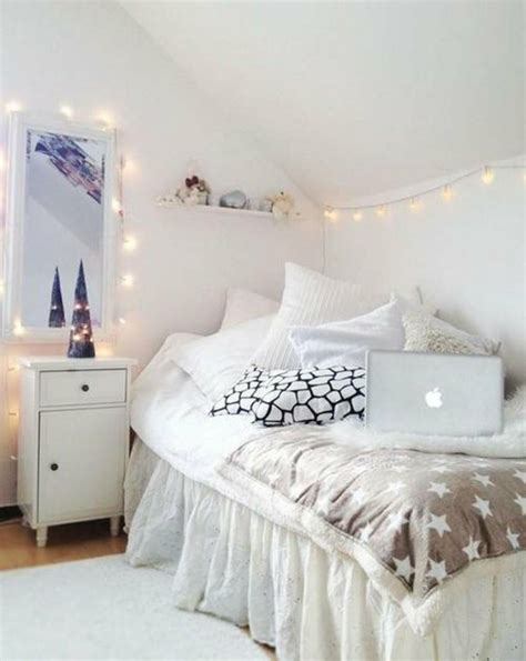 nice bedrooms tumblr 49 ideen f 252 r dekoration mit party lichterkette