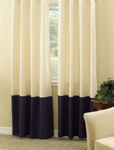 Drapes 120 Inches Long Banding At The Bottom Homie Home Pinterest