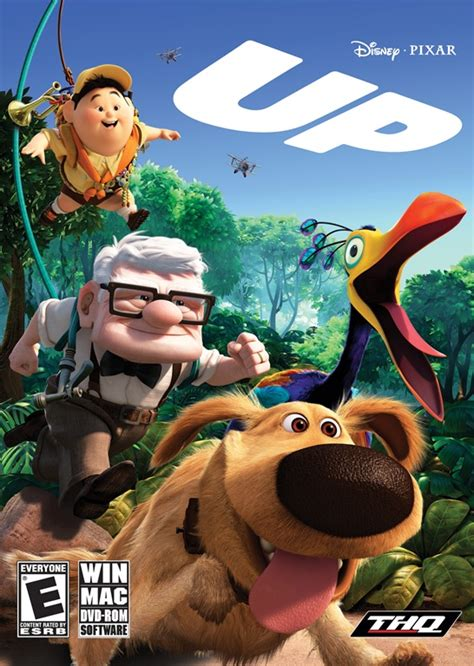 film up dvd thq and disney pixar s up the videogame preview technogog