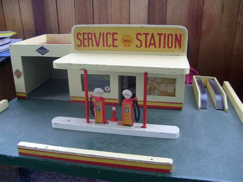 1950s Kitchen Design vintage shell toy garage 1950s collectors weekly