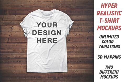 Realistic Apparel Templates Pack