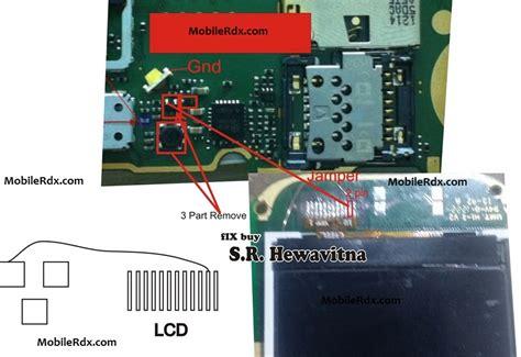 nokia 110 lcd light solution nokia 110 lcd display light problem jumper new hardware