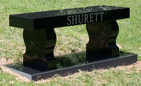 bench memorials for cemetery granite cemetery benches headstones grave markers