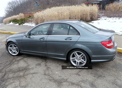 2012 Mercedes C300 by 2012 Mercedes C300 4matic Gas Mileage