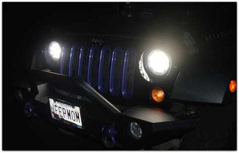 jeep headlights at night jeep momma blog my new headlights at night