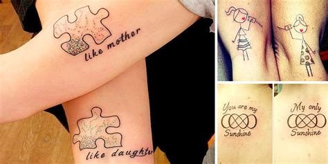 like mother like daughter tattoos and endearing exles of tattoos