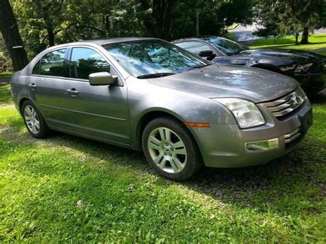 find used 2007 ford fusion sel awd in morgantown west virginia united states