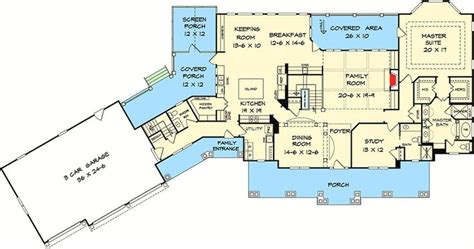 Plan Houses Plan 36059dk 4 Beds And Bonus Room Country House Plan